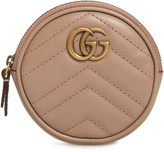 Gucci Leather Coin Purse with Key Ring