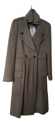 Diane von Furstenberg Beige Wool Coats