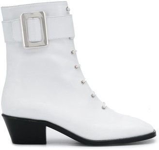 Dorateymur Buckle-Detail Ankle Boots
