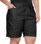 Gloria Vanderbilt Plus Size Cuffed Shorts