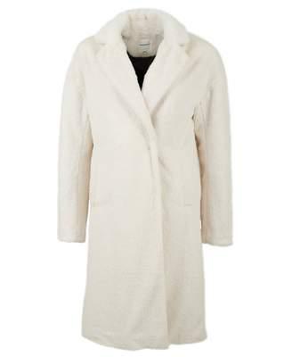 Silvian Heach Jalisco Faux Fur Coat Colour: Milk, Size: XS