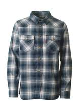 Levi's Kids Bouly Checked Twill Slim Fit Shirt