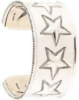 Cody Sanderson star engraved cuff bracelet