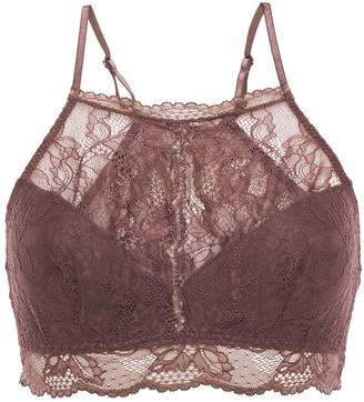 Eberjey Scalloped Stretch-lace Bralette