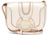 See by Chloe Hana Mini Metallic-leather Cross-body Bag - Womens - Gold