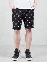Roen Emb Skull Shorts