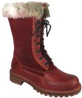 Bos. & Co. Red & Scarlet Holley Waterproof Suede Boot