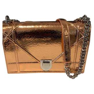 Christian Dior Diorama Metallic Leather Handbags