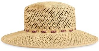 Gucci Woven Wide-Brim Hat