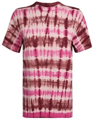 Etoile Isabel Marant Cotton Tie-Dye Print T-Shirt