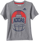 adidas Boys 4-7x Football Graphic Tee