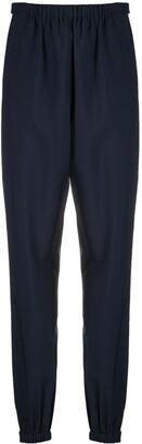 Prada Virgin Wool Track Pants