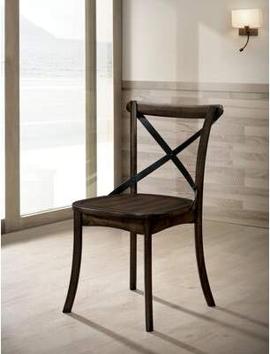 Gracie Oaks Raynor Solid Wood Dining Chair Gracie Oaks