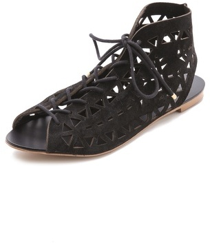 Twelfth St. By Cynthia Vincent Winima Laser Cut Sandals