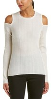 Elie Tahari Wool & Cashmere-blend Sweater.