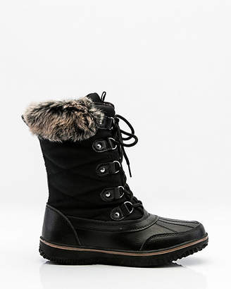 Le Château Round Toe Lace-Up Winter Boot
