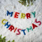 Felt Message Garland - Merry Christmas