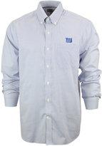 Cutter & Buck Men's New York Giants Tattersall Dress Shirt