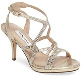 Nina Women's Varsah Crystal Embellished Evening Sandal