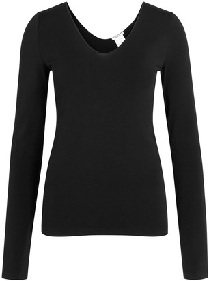 Wolford Black Seamless Jersey Top