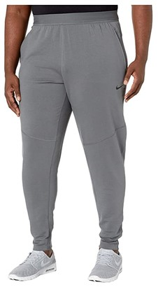 Nike Big Tall Dry Pants Hyperdry (Iron Grey/Black) Men's Clothing