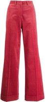 Paul Smith flared corduroy trousers