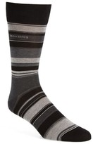 BOSS Men's Rs Design Bold Stripe Socks