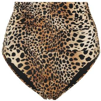 Melissa Odabash Lyon high-waisted bikini bottoms