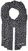 MICHAEL Michael Kors Leopard Plaid Oblong Scarves