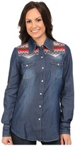 Roper 9751 5 Oz Denim L/S Shirt
