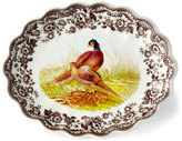 Spode Pheasant Oval Fluted Dish