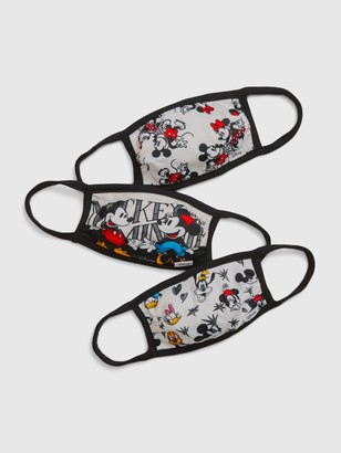 Gap Kids Mickey Mouse Face Mask (3-Pack)