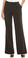 Jones New York Pinstripe Pleat Front Pants