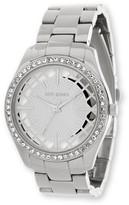 Steve Madden Women's Analog Crystal Bracelet Watch