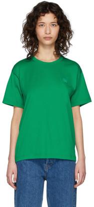 Acne Studios Green Nash Face T-Shirt