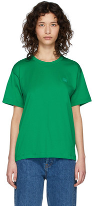 Acne Studios Green Nash Patch T-Shirt
