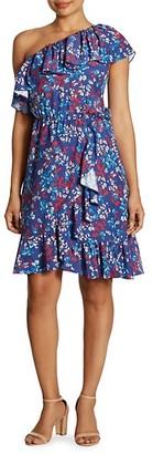 Parker Laela Off-The-Shoulder Stretch-Cotton Dress