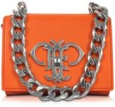 Emilio Pucci Orange Leather Shoulder Bag