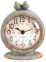 Two Birds Table Clock