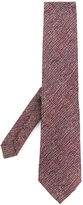 Etro blurry stripes knitted tie