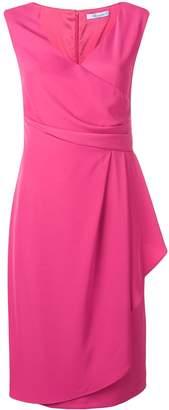 Blumarine side drape dress