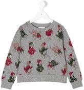 Moncler printed sweatshirt - kids - Cotton/Spandex/Elastane - 4 yrs