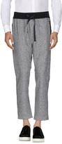 Grey Daniele Alessandrini Casual pants - Item 13018328