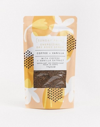 Sunday Rain Dry Body Scrub Coffee & Vanilla