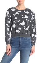 Alternative The Deb Floral Cropped Pullover