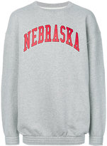 Off-White Nebraska sweatshirt - men - Cotton - XS