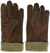 Canali cuff detailing gloves