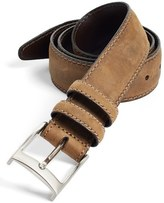 Johnston & Murphy Men's Leather Belt