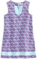 Vineyard Vines Girls' Scallop Print Tunic Shift Dress