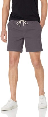 "Goodthreads Men's Slim-Fit 7"" Inseam Pull-On Comfort Stretch Canvas Short"